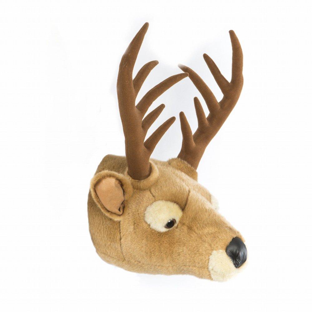 Animal Head Elk 剥製風のぬいぐるみ・トナカイ img3