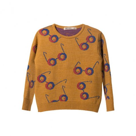 【セール30%OFF】2016AW No.096 Knitted Jumper Impossible Glasses AO