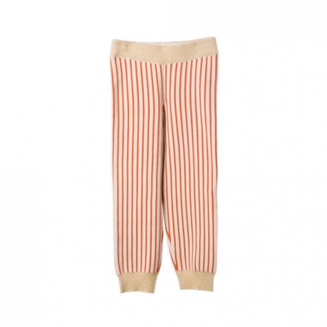 【セール30%OFF】2016AW No.116 Knitted Legging Red Stripes