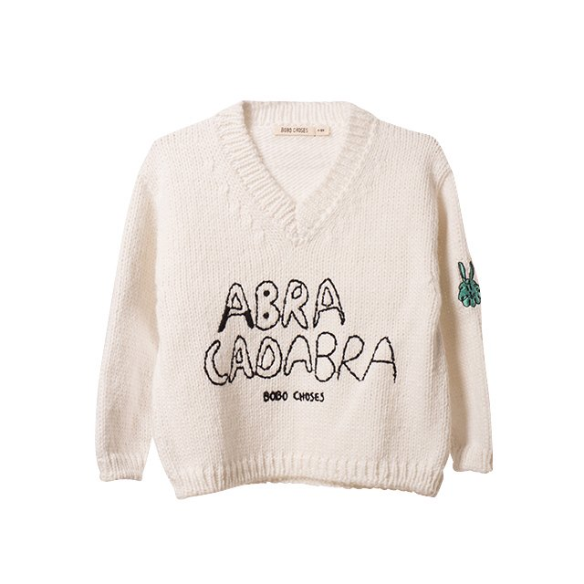 【MORE SALE 60%OFF】2016AW No.119 Knitted embroidered jumper Abracadabra img