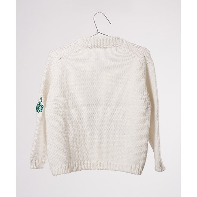 【MORE SALE 60%OFF】2016AW No.119 Knitted embroidered jumper Abracadabra img1