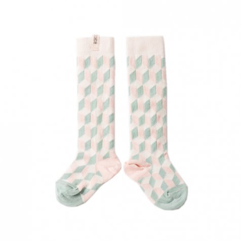 【セール30%OFF】2016AW No.131 Fantasy Long Socks Op Art Green