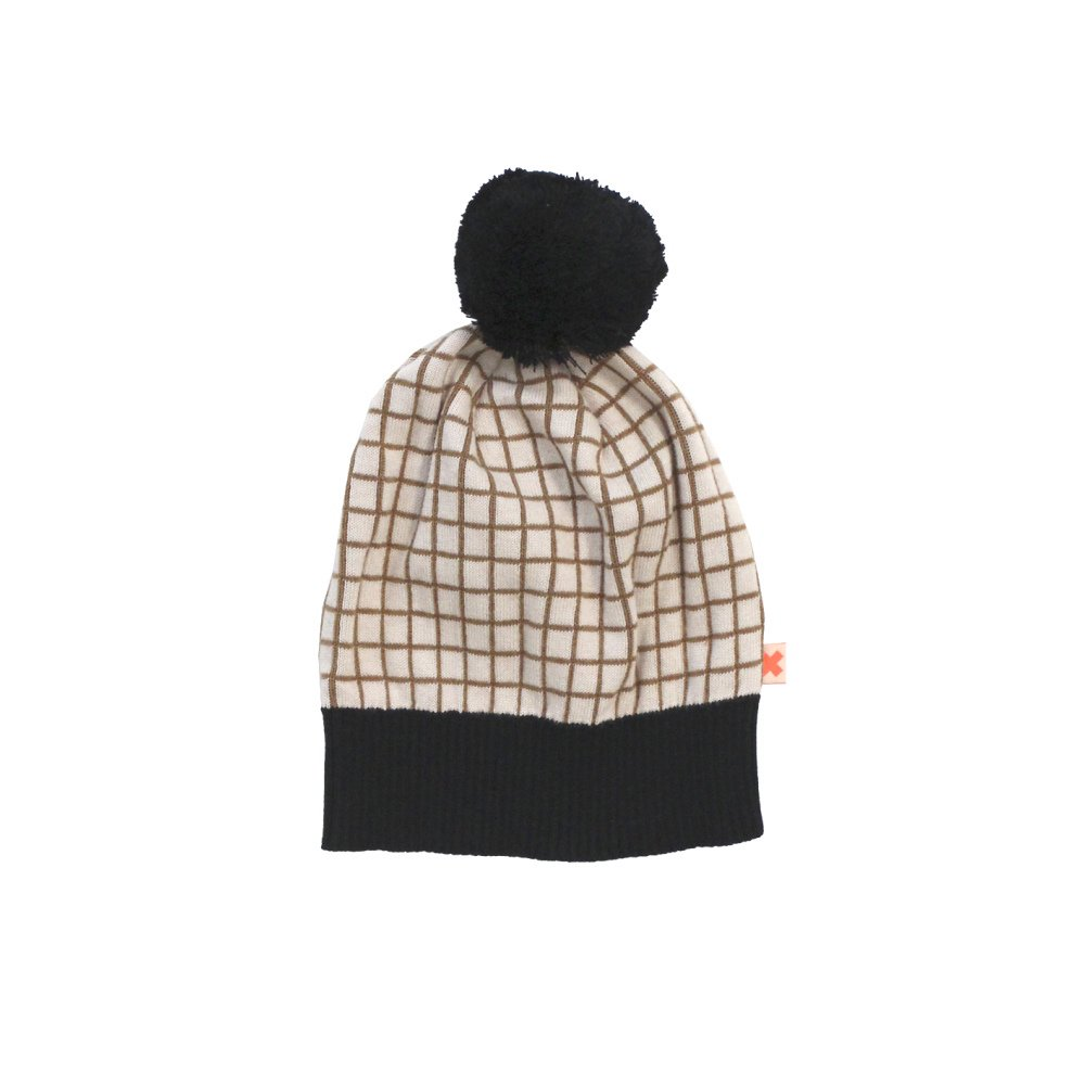 【MORE SALE 60%OFF】2016AW No.154 grid beanie img