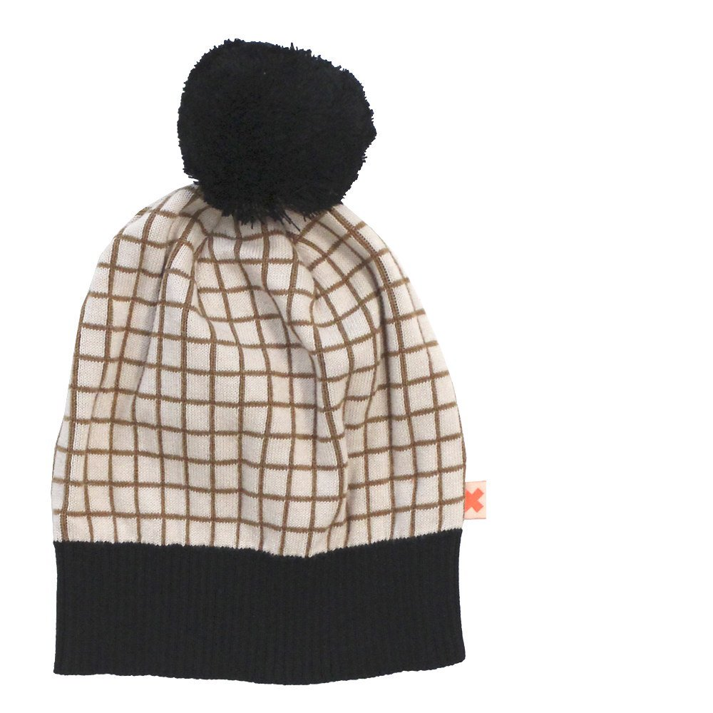 【MORE SALE 60%OFF】2016AW No.154 grid beanie img1