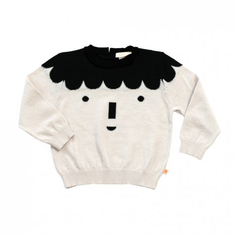 【セール30%OFF】2016AW No.163 big face sweater