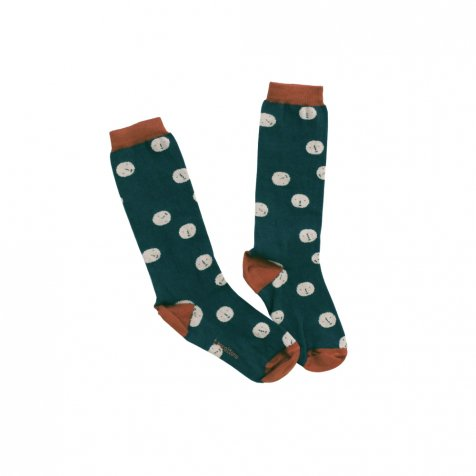 【セール30%OFF】2016AW No.183 faces green high socks