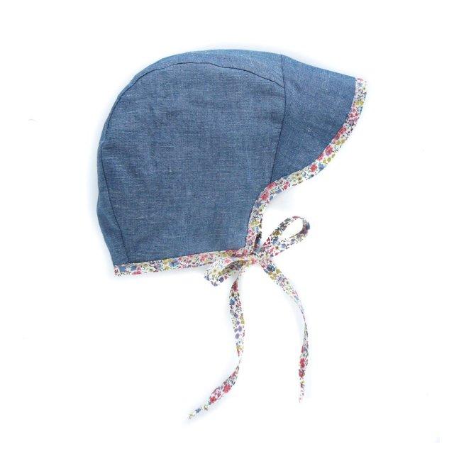 brimmed bonnet chambray img1