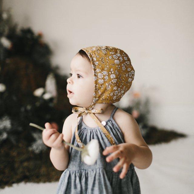 【再入荷】Floral bonnet Buttercup img2