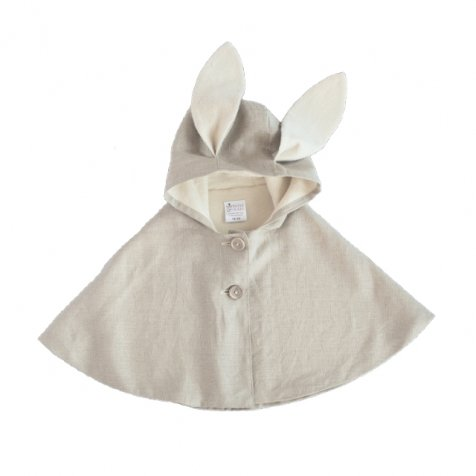 【セール30%OFF】Rabbit Cape Natural Linen