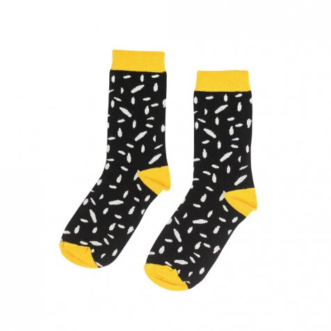 【セール30%OFF】SOCKS Black & white dots