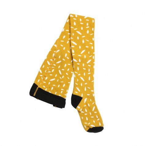 【セール30%OFF】TIGHTS Yellow & white dots
