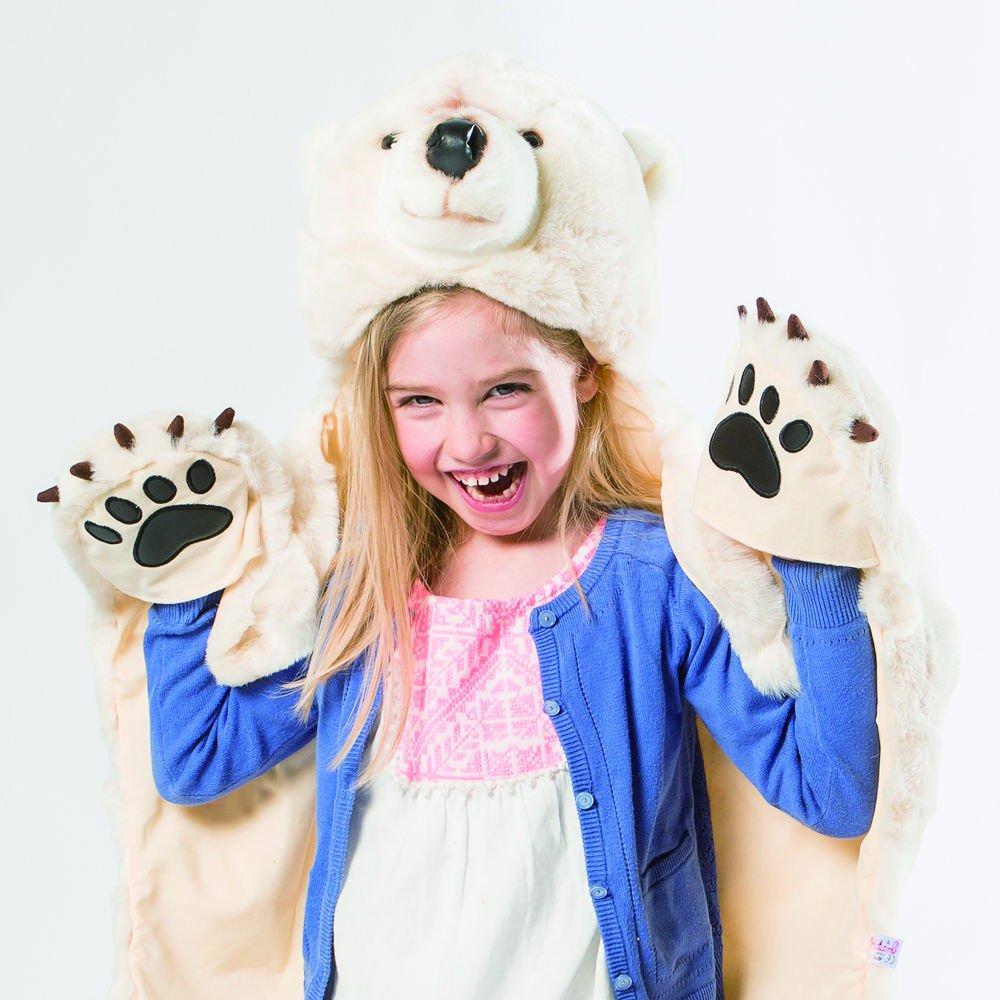 Animal Rug Disguise Light Brown Bear img2