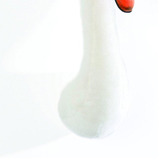 Animal Head White Swan 剥製風のぬいぐるみ・白鳥 img2
