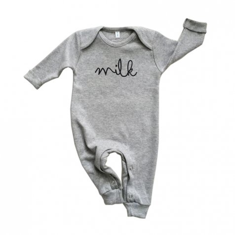 MILK PLAYSUIT ロンパース GREY