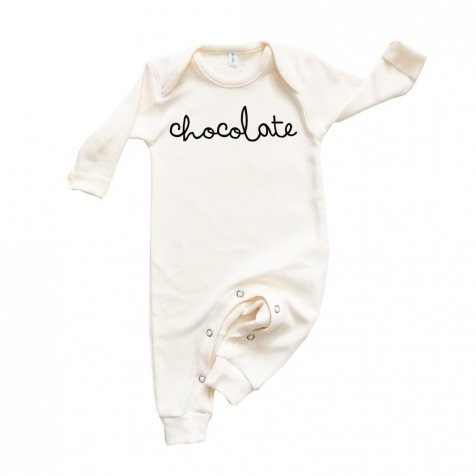 CHOCOLATE PLAYSUIT ロンパース NATURAL