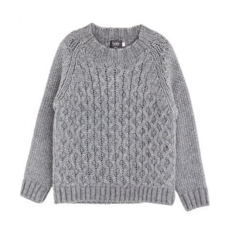 【セール30%OFF】W5716. BRAID JERSEY GREY