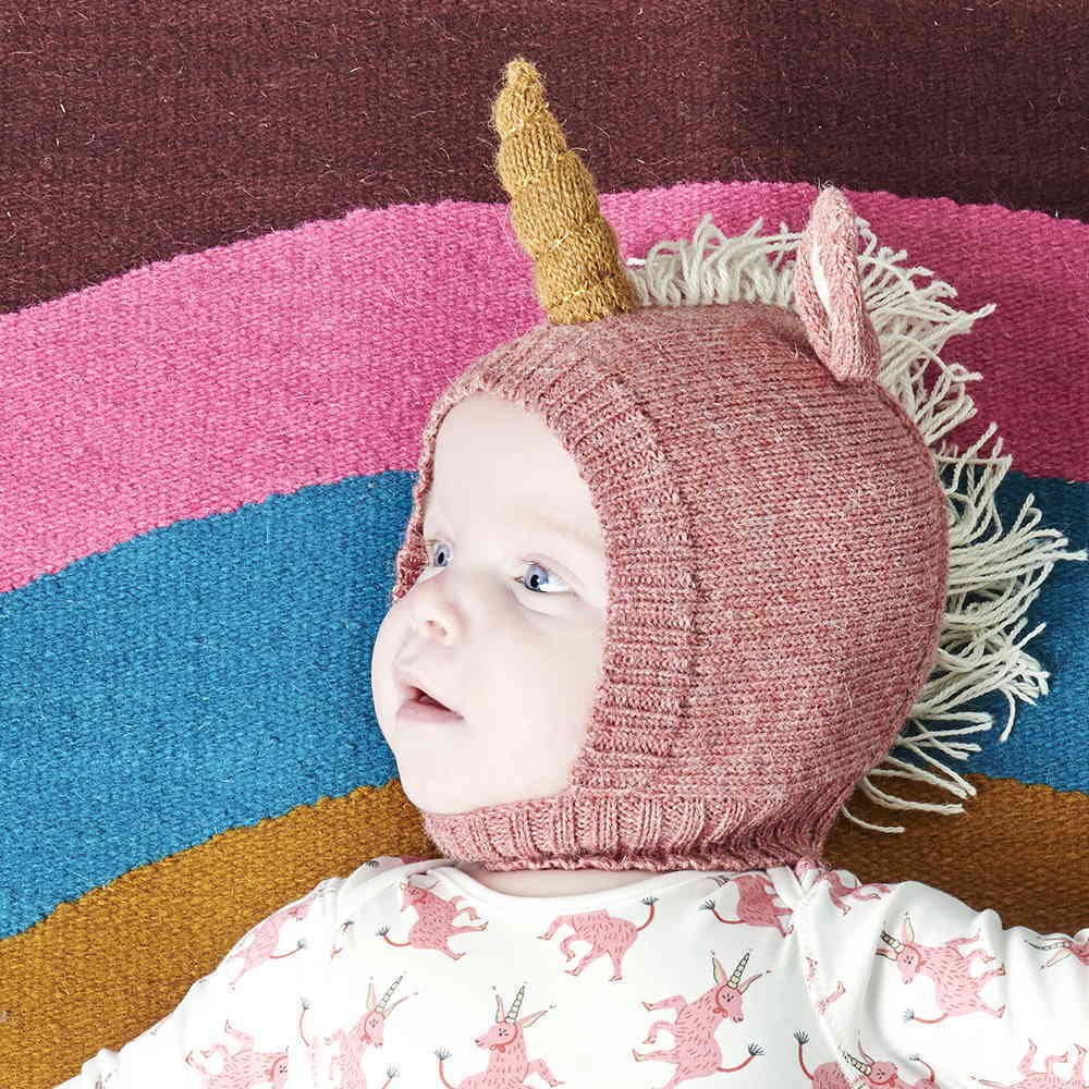 【SALE 40%OFF】Animal Hat in Unicorn img2