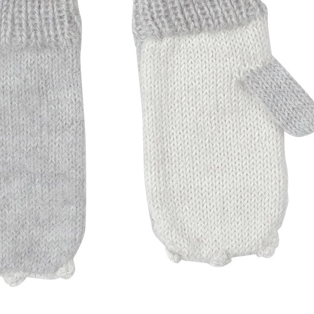 【セール30%OFF】Animal Mittens in Rabbit img1