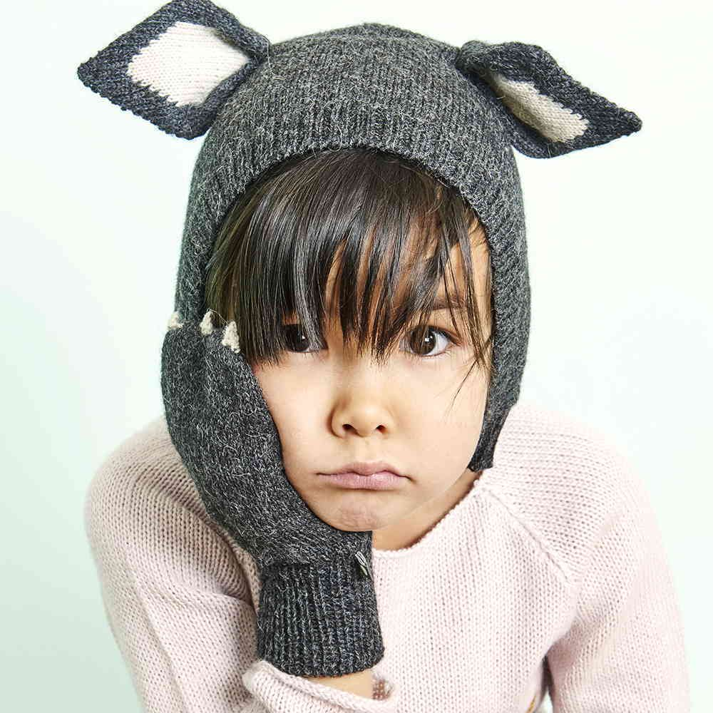 【SALE 40%OFF】Animal Mittens in Cat img3