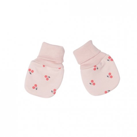 【セール30%OFF】Mittens in Light Pink/Cherries