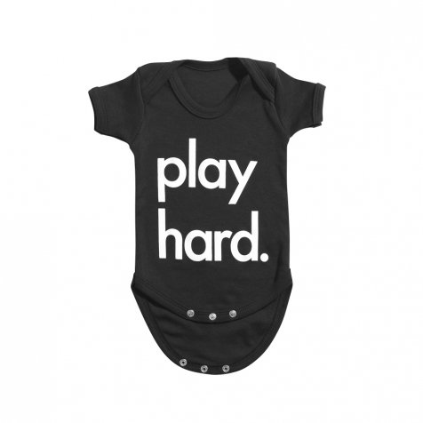 Play Hard Bodysuit Black