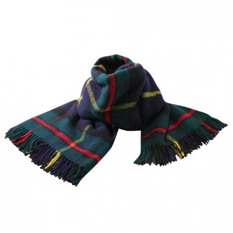 【SALE 40%OFF】Life Style Shawl / Jura Tartan Travel Throw, hunting mcleod