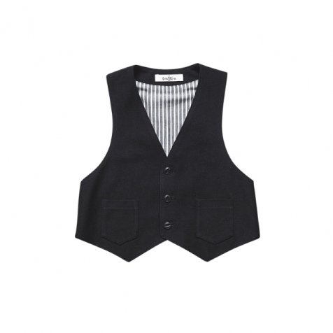 【春夏物セール30%OFF】ceremony vest black
