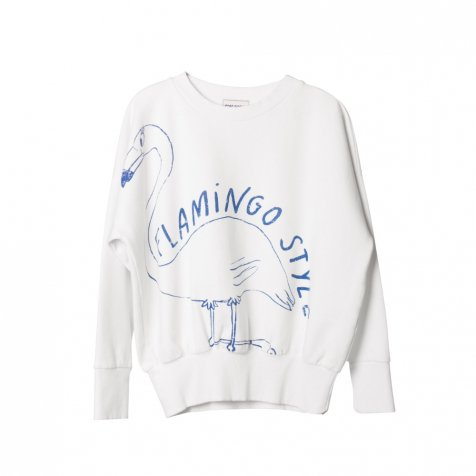 2017SS No.117040 Sweatshirt Flamingo