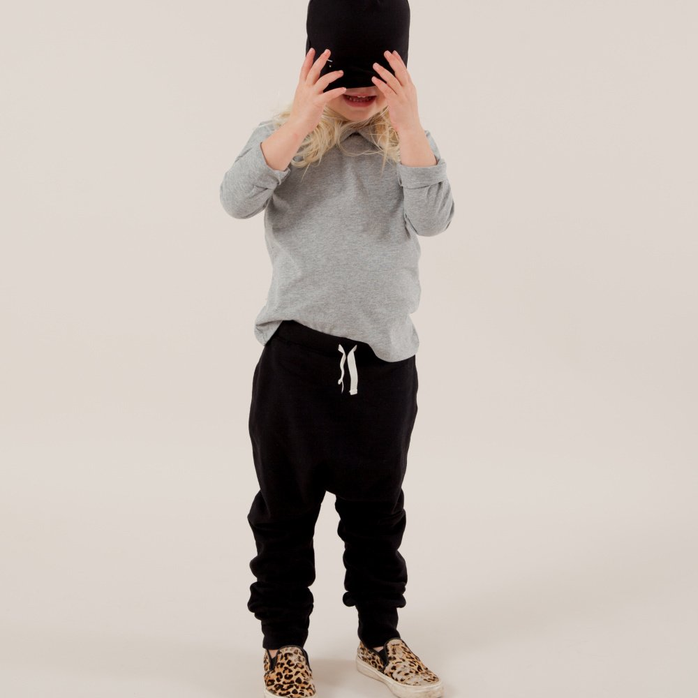 Baggy Pant Seamless Nearly Black img3