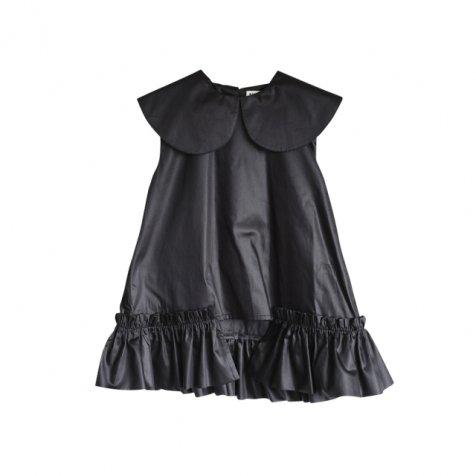 【春夏物セール30%OFF】LUNA Blouse BLACK SATIN