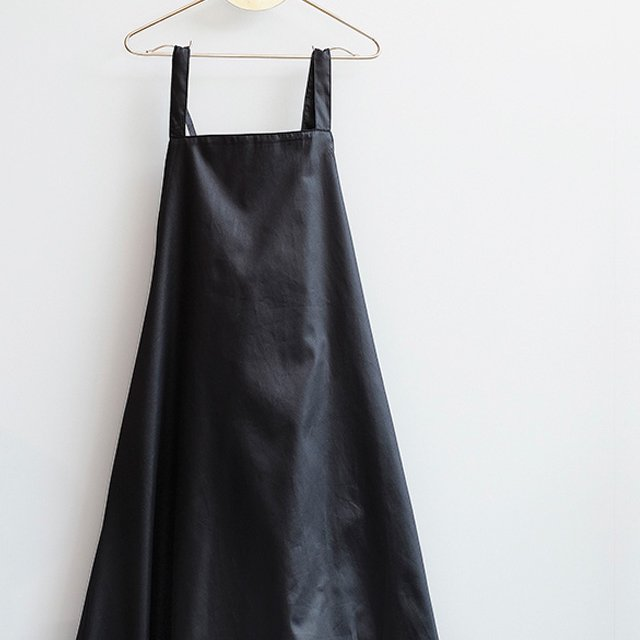 【MORE SALE 50%OFF】MAFALDA Dress BLACK SATIN img1