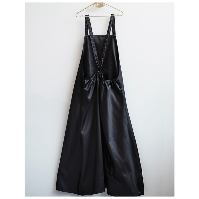 【MORE SALE 50%OFF】MAFALDA Dress BLACK SATIN img4