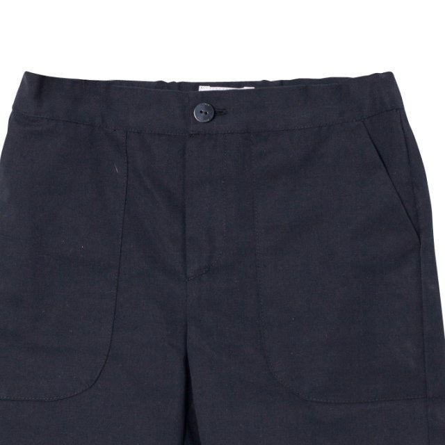 【春夏物セール30%OFF】POCKET PANT BLACK img1