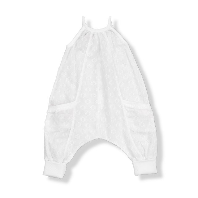 【MORE SALE 50%OFF】ALLEGRA overall white img