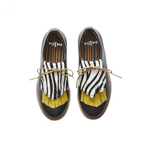 【春夏物セール30%OFF】compass shoes by chamny black