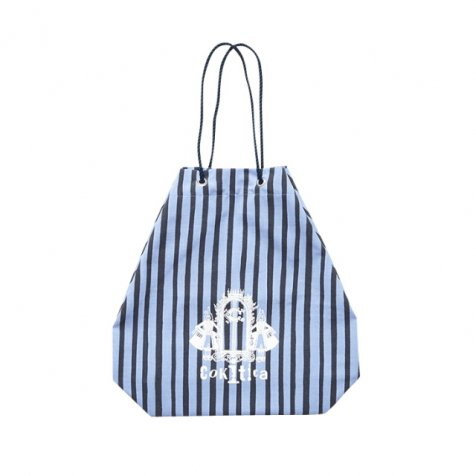 pool bag light blue