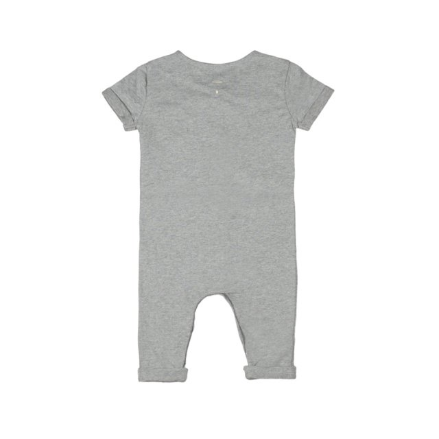 Playsuit Grey Melange img1