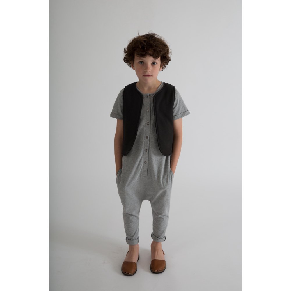 Playsuit Grey Melange img5