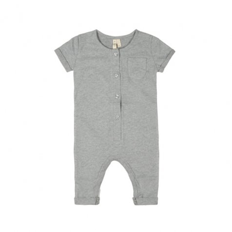 Playsuit Grey Melange