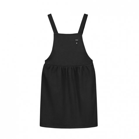 Pinafore Dress Nearly Black