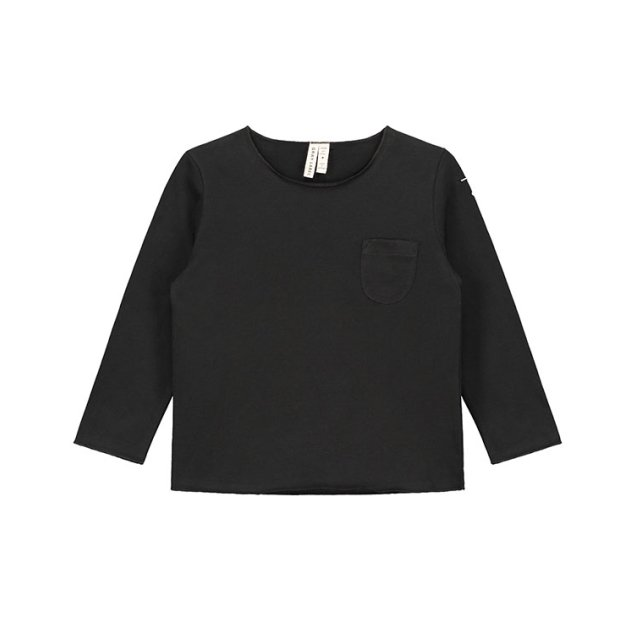 【40%OFF】L/S Pocket Tee Nearly Black img