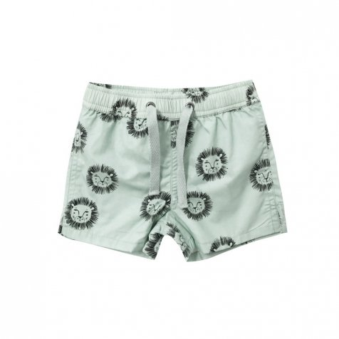lions swim trunk mint