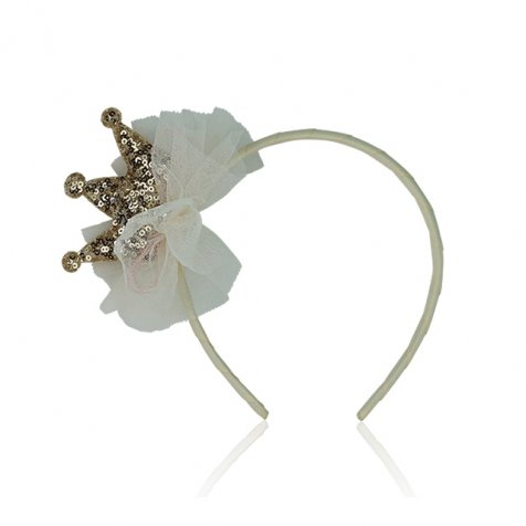 LIL PRINCESS HEADBAND Ivory