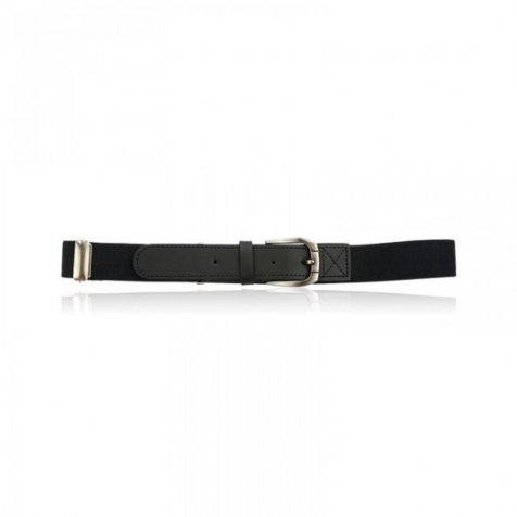 LEYTON ELASTIC BELT Black