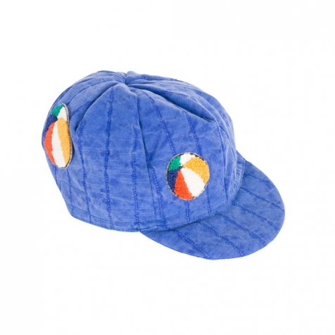 【2nd-入荷前ご予約販売】2017SS No.117264 Padded Cycling Cap Patch Blue
