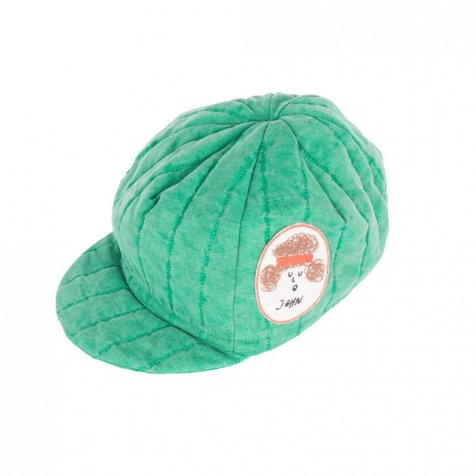 【2nd-入荷前ご予約販売】2017SS No.117263 Padded Cycling Cap Patch Green