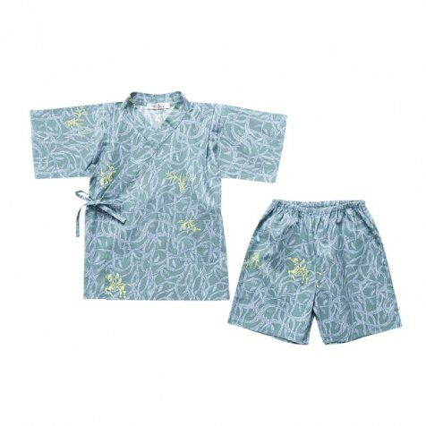 【SALE 40%OFF】troll no mori jinbei sage green