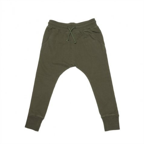 Slim fit jogger forest green