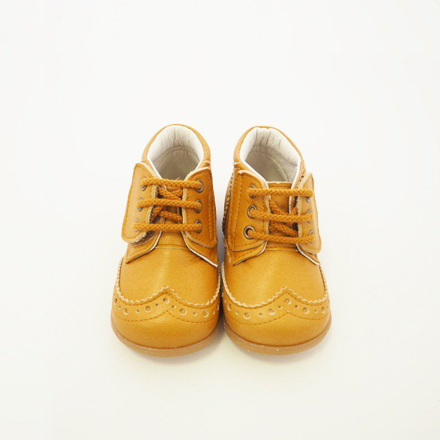 【春夏物セール30%OFF】Wing tip shoes CAMEL img