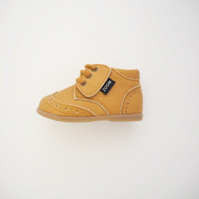 【春夏物セール30%OFF】Wing tip shoes CAMEL img2